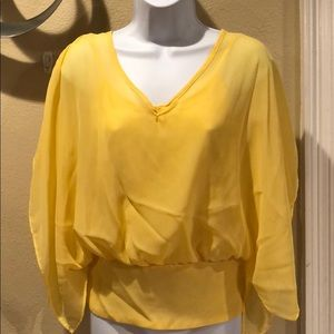 Yellow shear top